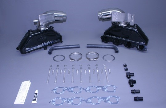 Set Of Bb Manifolds With Standard Stainless Risers With Brackets