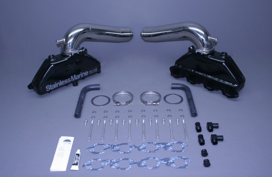 Set Of BB Manifolds With Long -1 Bravo Stainless Risers