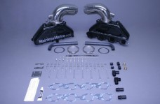 Set Of Bb Manifolds 8.1 / 496 Merc With Stainless Risers  With Special Brackets