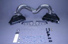 Set Of Bb Manifolds 8.1 / 496 Merc W Stainless Risers For Hi Performance & Special Brkts Built To Fit
