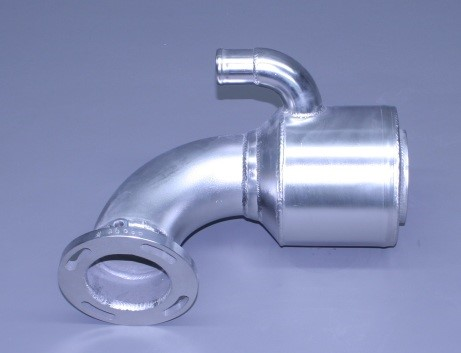 "6 Lp Elbow 4"" Exhaust (Ea)"