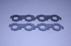 """Set Of Bb 3/4"""" Aluminum Exhaust Manifold To Head Spacers"""
