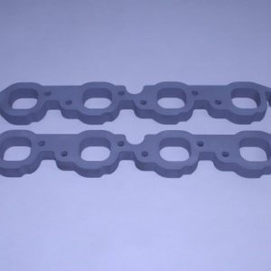 """Set Of Bb 1"""" Aluminum Exhaust Manifold To Head Spacers"""