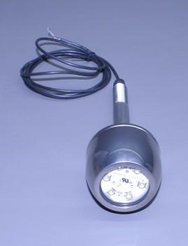 "Thru Hull S/S Housing 3"" Round Underwater Light W/ 6 Hi Powered Led Bulb (Transom Only) (Ea)"