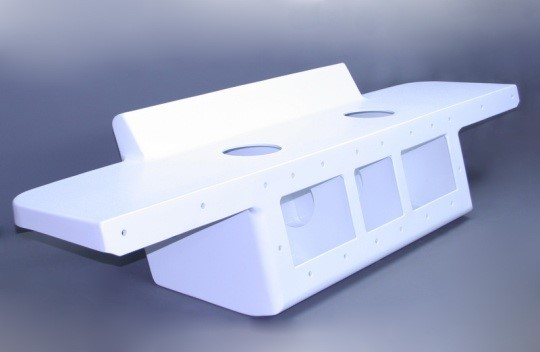 """18"""" Twin With 82"""" Wide Platform Offwhite - 12"""