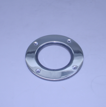"4"" Exhaust Polished Stainless Beauty Ring (For 4"" O.D. Pipe) (Ea)"