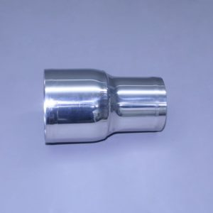 "4"" x 3"" Polished Stainless Straight Reducer"