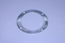 "3 1/2"" Exhaust Polished Stainless Beauty Ring (For 3 1/2"" O.D. Pipe)"