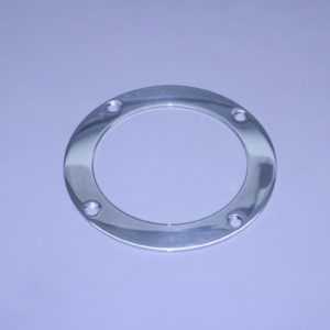 "4 1/2"" Exhaust Polished Stainless Beauty Ring (For 4 1/2"" O.D. Pipe)"