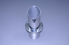 "4"" Exhaust Tip Straight Flange / Angled End 30"