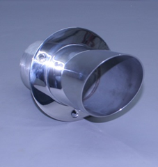 "5"" Exhaust Tip Angled Flange 12"