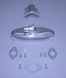 Bb Cast Crossover & Stat Housing  Kit With #16 Sae Male Flare Inlet (Port & Stbd)(Ea)