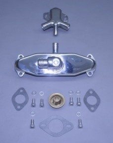 Bb Cast Crossover & Stat Housing Kit With #16 Sae Male Flare Inlet With Bypass (Port & Stbd) (Ea)