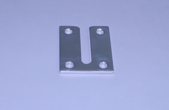"""Center Post Dive Ladder Armstrong Stainless Plate W/ 1/2"""" Slot Width (Ea)"""