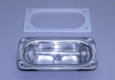 "Large Full Cleat Ss Polished 4"" X 8"" (Ea)"