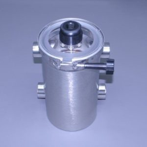 "Tall Super Strainer All Stainless 1 1/4"" N.P.T. With Pressure Relief Valve (Ea)"