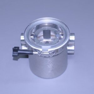 "Short Strainer All Stainless  1"" N.P.T. Female With Out Pressure Relief Valve (Ea)"