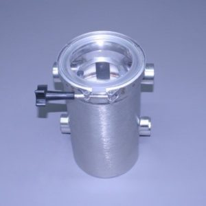 "Tall Super Strainer All Stainless 1 1/4"" N.P.T.  With Out Pressure Relief Valve (Ea)"