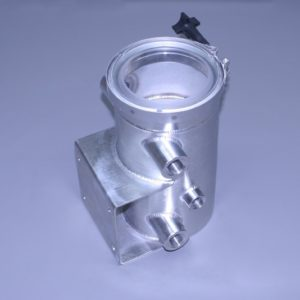 "Tall Super Sea Strainer All Stainless 1 1/4"" N.P.T."