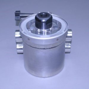 "Short Super Strainer 1 1/4"" N.P.T. With Pressure Relief Valve (Ea)"