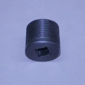 "1"" N.P.T. Delrin Pipe Plug (Ea)"