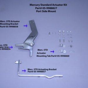 Actuator Mounting Bracket..(Used On Merc Std, Yamaha, Omc, Suzuki,& Honda) Port Mount