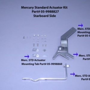 Actuator Arm (For Merc Std, Yamaha, Omc, Suzuki,& Honda) Stbd Side