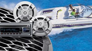 marine engine parts sound system