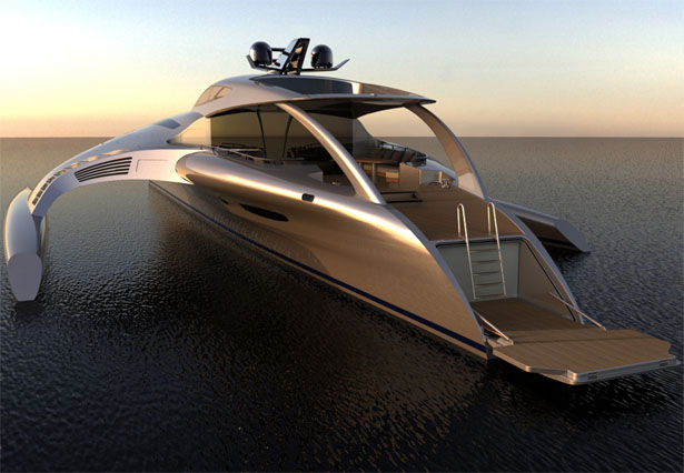 Image result for futuristic recreational boat hull designs