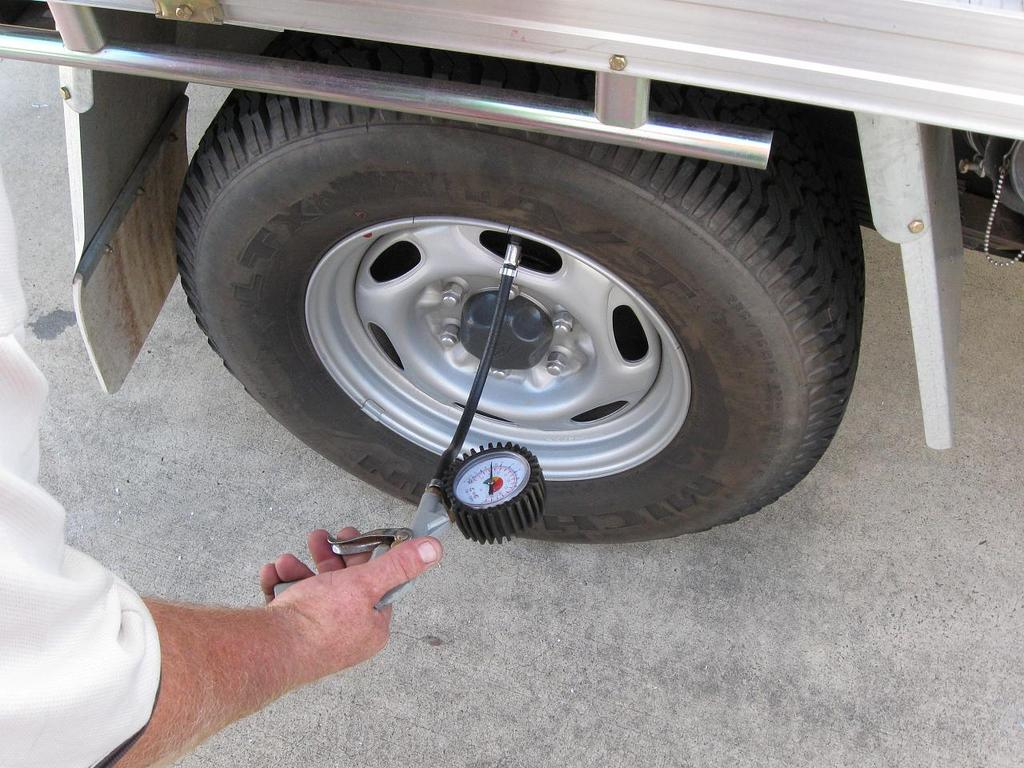 Image result for safe air pressure in trailer tires