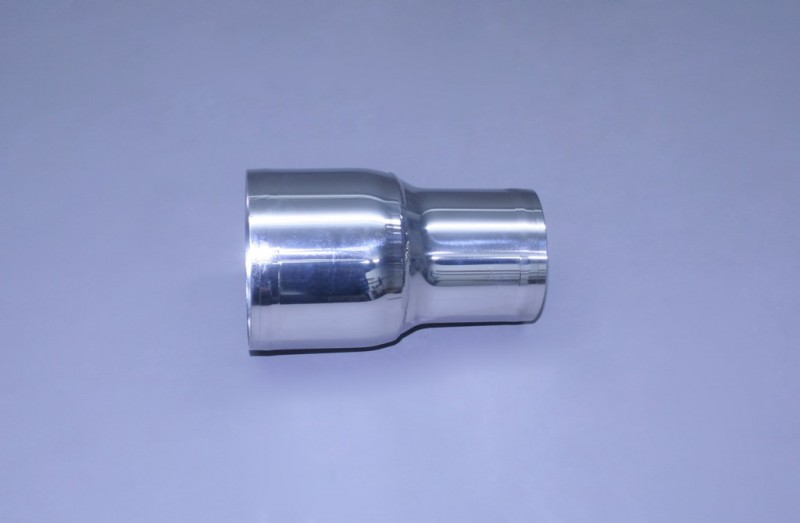 """4"""" x 3"""" Polished Stainless Straight Reducer"""