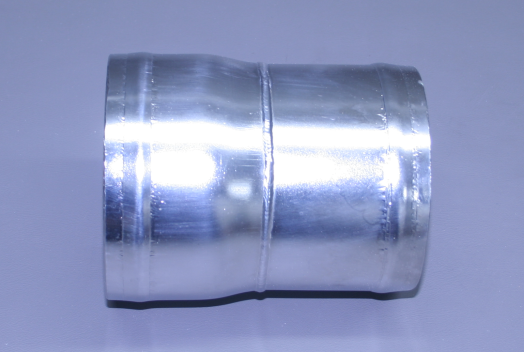 "4"" X 3 3/4"" Polished Stainless Reducer For Volvo (Ea)"