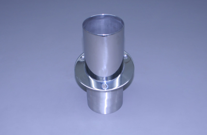 "4"" Exhaust Tip Straight Flange / Straight End"