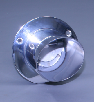 "5"" Exhaust Tip Straight Flange / Angled End 30"