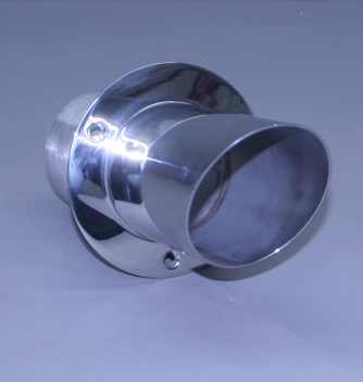 "6"" Exhaust Tip Angled Flange 12"