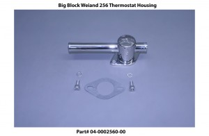 Big Block Weiand 256 Thermostat Housing