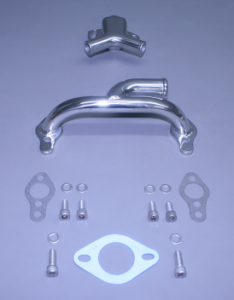 Small Block Crossover & Thermostat Housing Kit Port Entry