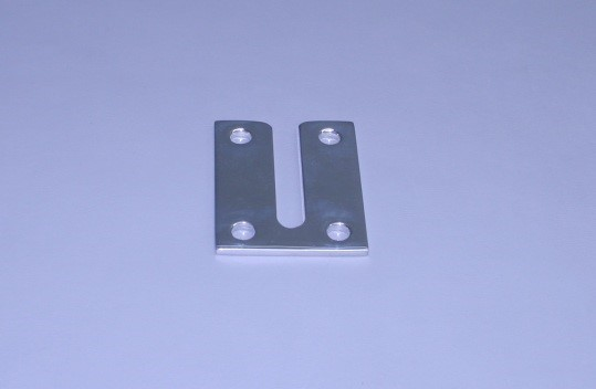 """Center Post Dive Ladder Windline Stainless Plate With 3/8"""" Slot Width (Ea)"""