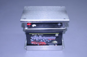 Self Contained Stainless Group #24 Battery Box With Cover Plate