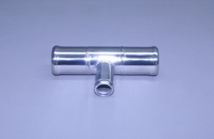 "Fresh Water Stainless Flush Tee 1 1/4"" X 1 1/4"" X3/4"""