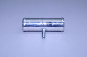"Fresh Water Stainless Flush Tee ..1 1/2"" X 1 1/2"" X 3/8"" Fuel Return For Efi Engines"