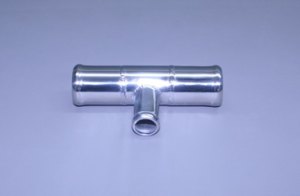 "Fresh Water Stainless Flush Tee ..2"" X 2"" X 1/2"" Hose"