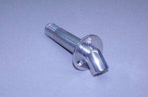 "1"" O.D. Stainless Single Water Discharge Fitting 45"