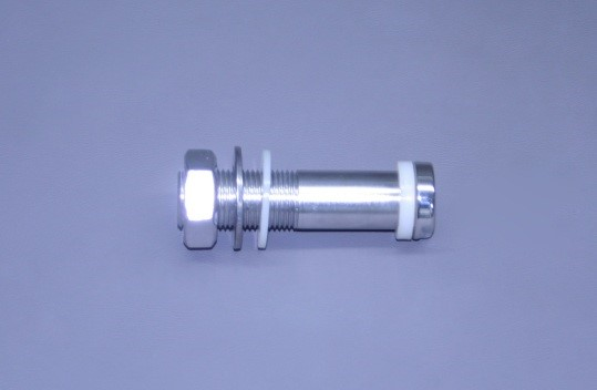 "3 1/2"" X 1/4"" N.P.T. Thru Hull Hydraulic Polished Stainless Fitting (Ea)"