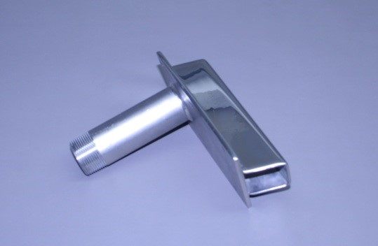"""1 1/4"""" N.P.T. Male X 1 5/8"""" Od Stainless Transom Mount Water Pick Up (Ea)"""