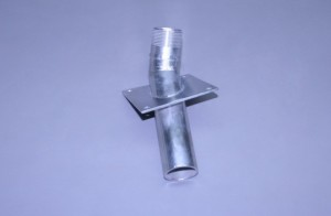 "1"" N.P.T. Male High Speed Thru Bottom Stainless Water Pickup (Ea)"