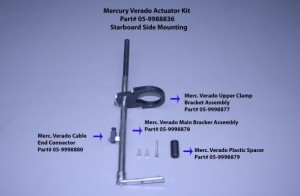 Merc Verado Actuator Kit (Stbd Only)
