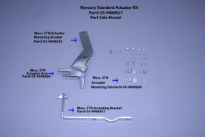Actuator Mounting Bracket..(Used On Merc Std, Yamaha, Omc, Suzuki,& Honda) Port Mount