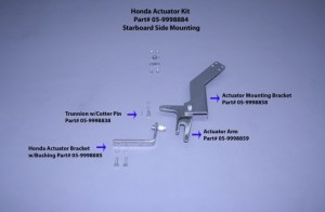 Honda Actuator Kit (Stbd Only)
