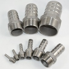 StainlessSteel Barbed Fitting NPT